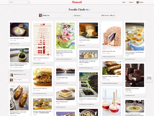 pinterest y restaurantes