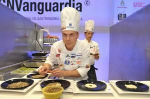 Víctor Manuel Rodrigo durante el concurso