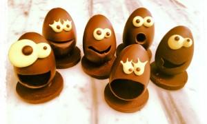 Huevos de Pascua con Humor