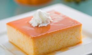 Flan de Calabaza Dulce y Vainilla…una dulce opción para cerrar una cena esta temporada!