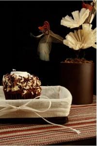 Cupcake de Fruta Cristalizada