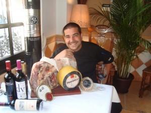 El chef Paco Flores
