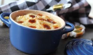 Receta dulce: Crumble de Plátano y Caramelos