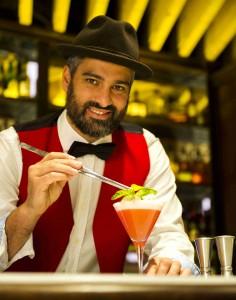 Diego Cabrera, uno de los mejores bartenders de nuestro país