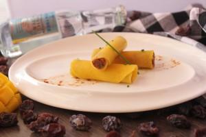 Aperitivo de Mango y Tónica