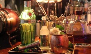 Cherry Basil Cooler Cocktail