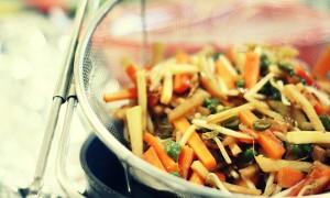 Ventajas de cocinar en un wok