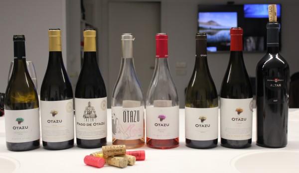 8 vinos: desde rosados a blancos y tintos.