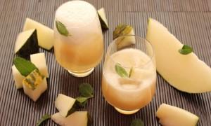 Agua de melón y tónica