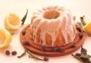 Plum cake de limón