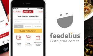 Aplicaciones y webs de comida a domicilio