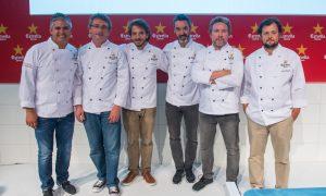 Estrella Damm Gastronomy Congress Lisboa. 6 chefs, 2 cocinas