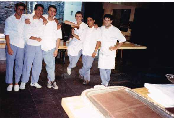 Andoni Luis Aduriz en El Bulli