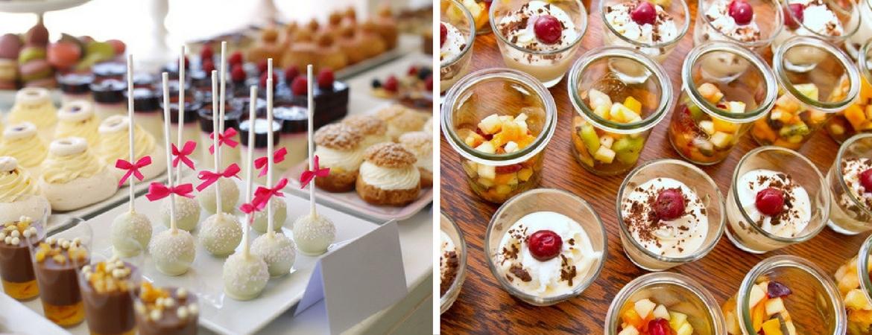 C mo montar un buffet de postres the gourmet journal - Postres para impresionar ...
