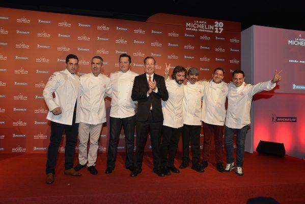 7 restaurantes ostentan dos estrellas Michelin
