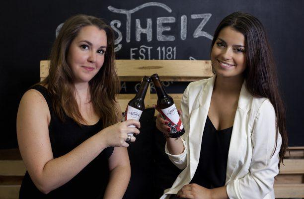 Ainhoa Ocio y Jone Conde creadoras de la cerveza de patata