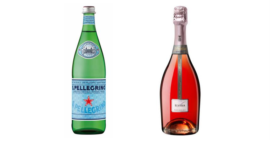 S.Pellegrino y Elyssia Rosé Pinot Noir