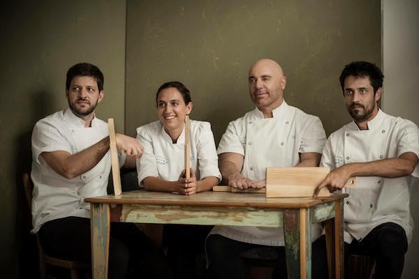 Javier Rodríguez, Soledad Nardelli, Germán Martitegui y Guido Tassi cocinarán en Málaga