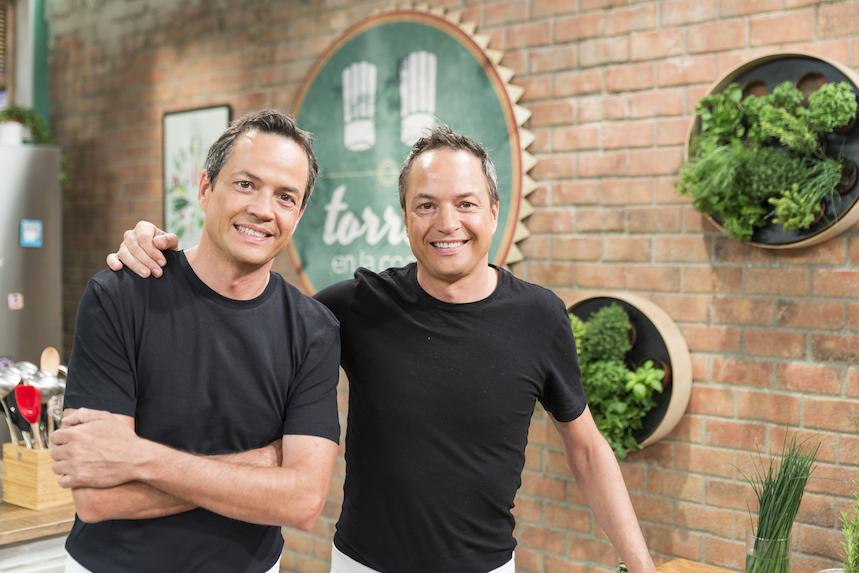 """Sergio y Javier cocinan cada día en """"Torres en la Cocina"""" de La1 de TVE."""
