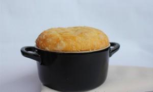 Soufflé de Calabaza y Queso Parmesano