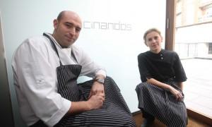 Entrevista a Yolanda León y Juanjo Pérez, Restaurante Cocinandos, 1*Michelin