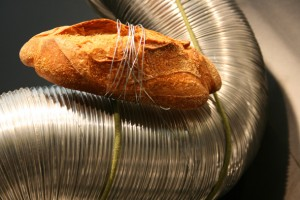 Uno de los ricos panes que elabora Xevi