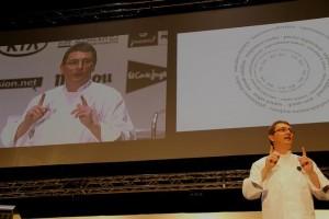 Andoni Luis Aduriz, finaliza la jornada de la mañana en MF2012.Foto:GuíaRepsol
