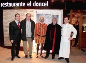 Paco Torreblanca homenajeado en San Vicente Gastronómico