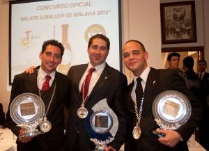 Christian Postigo, Francisco Rubiales y Agustín Navarro