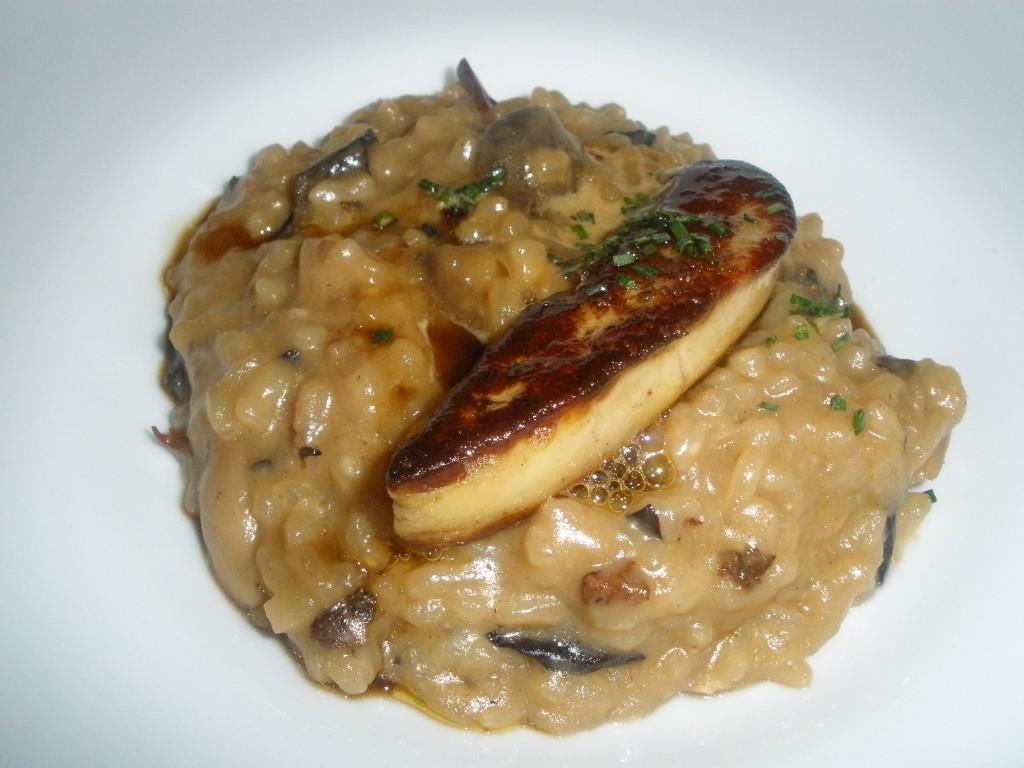 Arroz de setas y foie the gourmet journal peri dico de for Arroz con setas y trufa