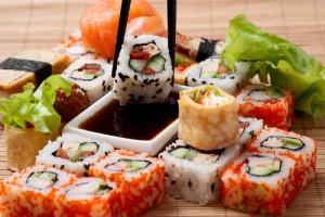 La comida japonesa, muy valorada por sus bajas calorías