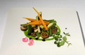 Verduras de la huerta con Romescu