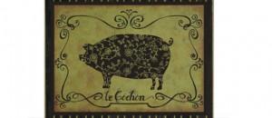 El cerdo, también llamado lechón