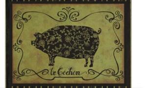 La pasión francesa por el cerdo