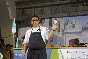 Dani García mostrando el obulato