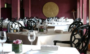L´Orangerie, un restaurante en las montañas del Tibidabo