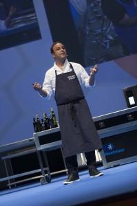 El chef del Mar en la última jornada de SSG13
