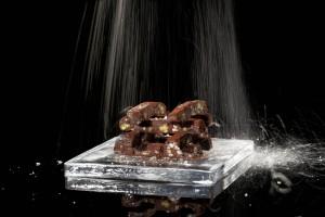 """Palitos de """"Ganaché"""" de Dátiles y Chocolate"""