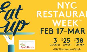 Regresa New York Restaurant Week