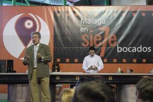 Fernando Rueda y Manu Balanzino durante el Show-Cooking