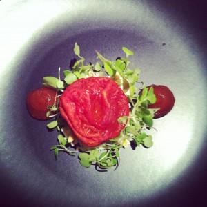 Tomate semi-seco