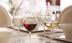 Cada copa con su vino