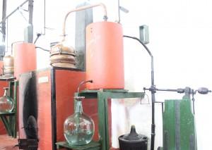 Destilación en alambiques