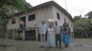 Familia cacaotera
