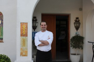 El chef Amador Fernández