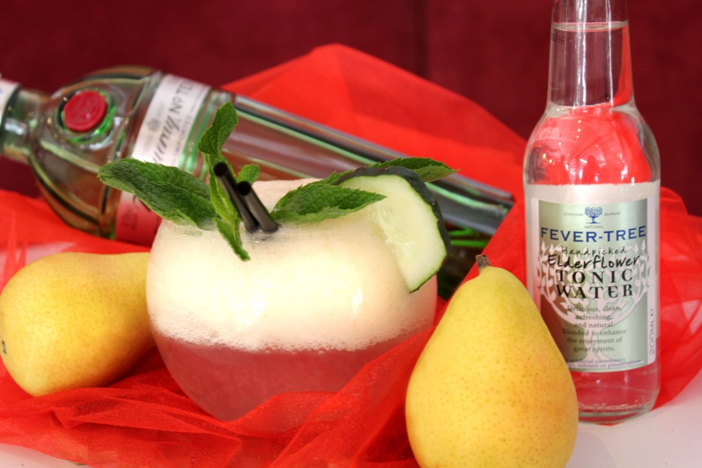 Elder Pear Cocktail