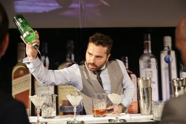 Borja Cortina, mejor bartender de España
