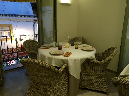 Interior del restaurante Aderezzo
