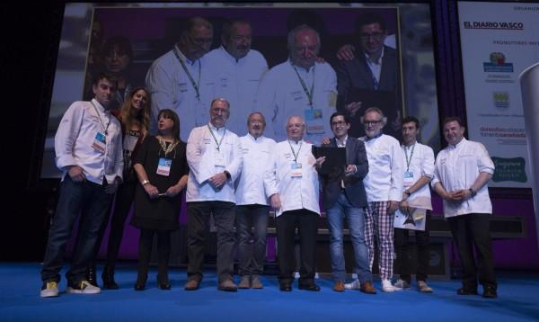 Los chefs vascos en San Sebastián Gastronomika