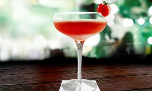 Cherry Tomatini Cocktail